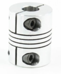 Cheap shaft coupler