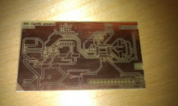 Etched pcb